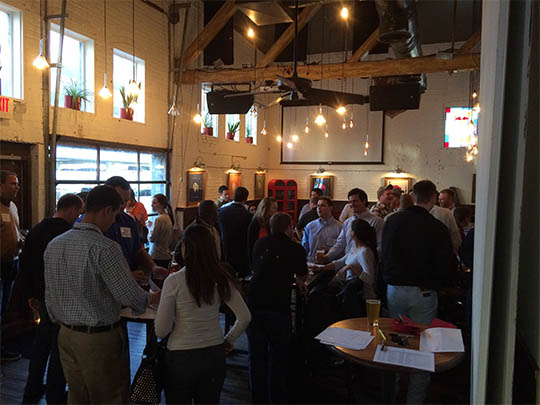 CLC Winter Networking Happy Hour at the Austin Alehouse (2015)