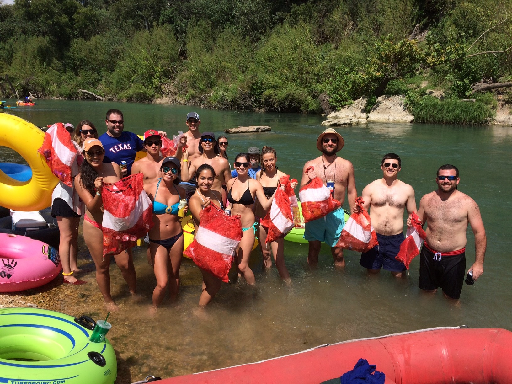 CLC San Marcos River Float and Clean Up (2016 )