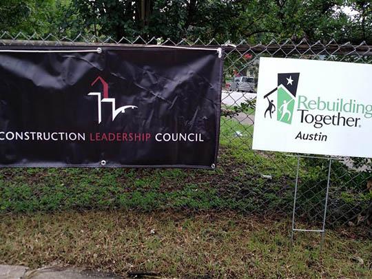 CLC Community Project 'Rebuilding Together Austin' (2015)