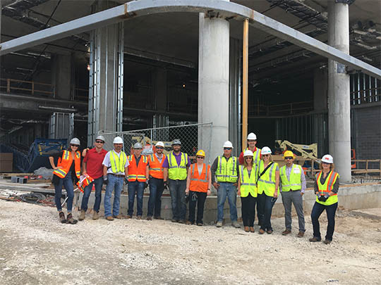 CLC Fairmont Hotel Jobsite Tour & Happy Hour (2016)