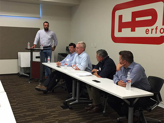 CLC Leadership Forum at Hensel Phelps Office (2016)
