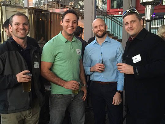 CLC Winter Networking Happy Hour at the Container Bar (2016)